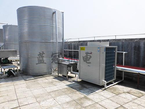 蓝冠机电空气能热水工程