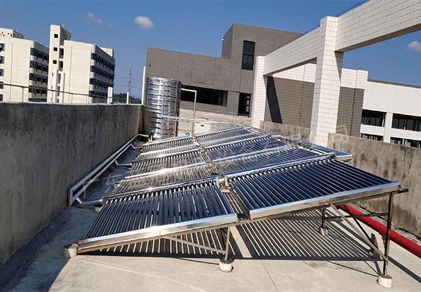 太阳能+空气能热水工程